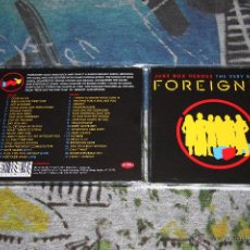 CDs de Música: FOREIGNER - JUKE BOX HEROES - THE VERY BEST OF FOREIGNER - 2 CD'S - MCDLX516. Lote 54802356
