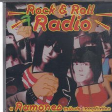 CDs de Música: ROCK & ROLL RADIO A RAMONES TRIBUTE COMPILATION-TUPPERGUARROS + BUMMER + SAFETY PINS + PAINKILLERS +. Lote 54802526