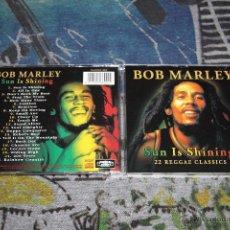 CDs de Música: BOB MARLEY - SUN IS SHINING - 22 REGGAE CLASSICS - PLATCD 699 - CD. Lote 54817978