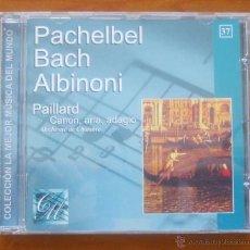 CDs de Música: LA MEJOR MÚSICA DEL MUNDO 37 PACHELBEL BACH ALBINONI PAILLARD. Lote 54825422