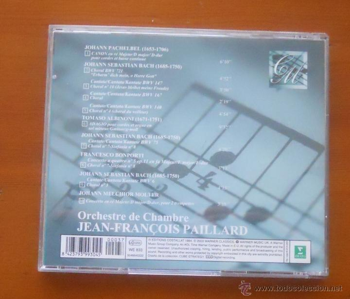 CDs de Música: la mejor música del mundo 37 pachelbel bach albinoni paillard - Foto 2 - 54825422