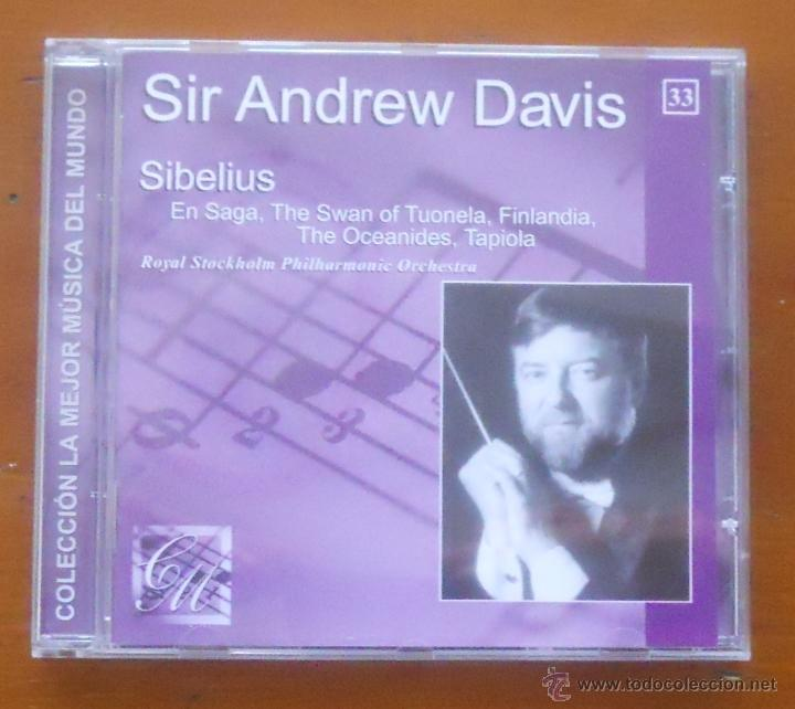 LA MEJOR MÚSICA DEL MUNDO 33 ANDREW DAVIS SIBELIUS (Música - CD's Clásica, Ópera, Zarzuela y Marchas)