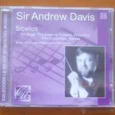 CDs de Música: LA MEJOR MÚSICA DEL MUNDO 33 ANDREW DAVIS SIBELIUS. Lote 54825512