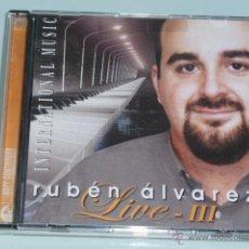 CDs de Música: CD RUBEN ALVAREZ. LIVE III. Lote 54837451