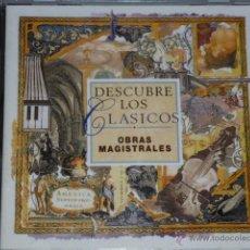 CDs de Música: CD DESCUBRE LOS CLASICOS.OBRAS MAGISTRALES. Lote 54837746