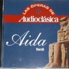 CDs de Música: CD AIDA .VERDI. LAS OPERAS DE AUDIOCLASICA. Lote 54838592