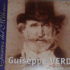 CDs de Música: CD GUISEPPE VERDI. CLASICOS DEL MILENIO. Lote 54838611