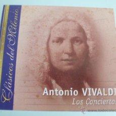 CDs de Música: CD ANTONIO VIVALDI. LOS CONCIERTOS. CLASICOS DEL MILENIO. Lote 54838913