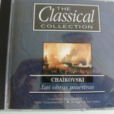 CDs de Música: CD THE CLASSICAL COLLECTION CHAIKOVSKI. LAS OBRAS MAESTRAS. Lote 54839023