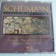 CDs de Música: CD SCHUMANN.CONCIERTO ROMANTICO.. Lote 54839048