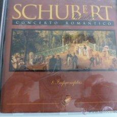 CDs de Música: CD SCHUBERT. CONCERTO ROMANTICO. IMPROMPTUS. Lote 54839074
