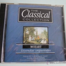 CDs de Música: CD THE CLASSICAL COLLECTION. MOZART. LEYENDAS ORQUESTALES. Lote 54839996