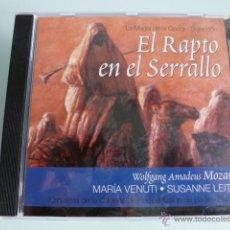 CDs de Música: CD EL RAPTO DEL SERRALO. MOZART. LA MAGIA DE LA OPERA. SELECCION. Lote 54840039