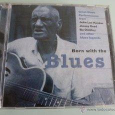 CDs de Música: CD BORN WITH THE BLUES. JOHN LEE HOOKER, BO DIDDLEY..... Lote 54840096