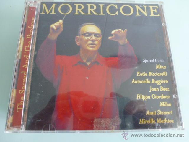 DOBLE CD MORRICONE. THE SACRED AND THE PROFANE (Música - CD's Otros Estilos)