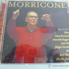 CDs de Música: DOBLE CD MORRICONE. THE SACRED AND THE PROFANE. Lote 54840147