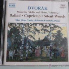 CDs de Música: CD DVORAK.NAXOS. Lote 54840374