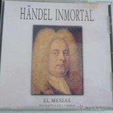 CDs de Música: CD HANDEL INMORTAL.EL MESIAS ( EXTRACTOS). Lote 54840446