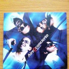 CDs de Música: CD AIREDCONCIERTO CON CLARINETE. Lote 54856072