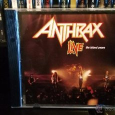 CDs de Música: ANTHRAX - LIVE - THE ISLAND YEARS. Lote 54859343