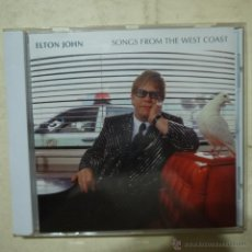 CDs de Música: ELTON JOHN - SONGS FROM THE WEST COAST - CD 2001. Lote 54865056