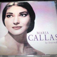 CDs de Música: MARIA CALLAS- LA LEYENDA.. Lote 54877087