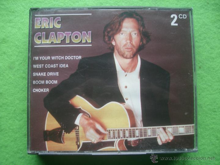 DOBLE CD ERIC CLAPTON XBOX235B HOLANDA CONO NUEVO¡¡ PEPETO (Música - CD's Rock)