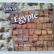 CDs de Música: CD´S, CD - MUSICA DE EGIPTO, EGYPTE - COLLECTION SONO. Lote 54881629