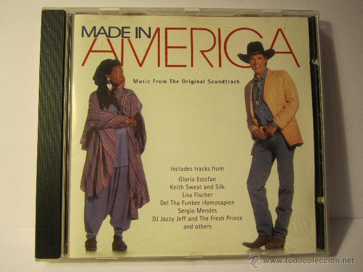 CD BANDA SONORA MADE IN AMERICA AÑO 1993 WHOOPI GOLDBERG (Música - CD's Bandas Sonoras)