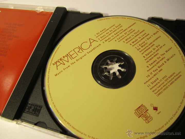 CDs de Música: cd banda sonora made in america año 1993 whoopi goldberg - Foto 2 - 54885751