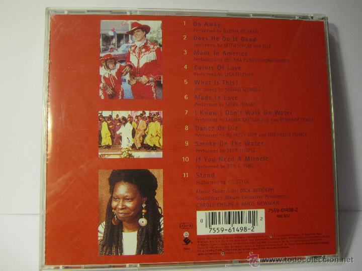 CDs de Música: cd banda sonora made in america año 1993 whoopi goldberg - Foto 4 - 54885751