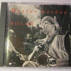 CDs de Música: CD DEXTER GORDON BALLADS AÑO 1995. Lote 54885971