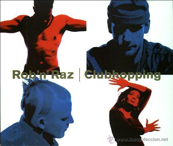 ROB 'N' RAZ - CLUBHOPPING (CD, MAXI) (Música - CD's Hip hop)