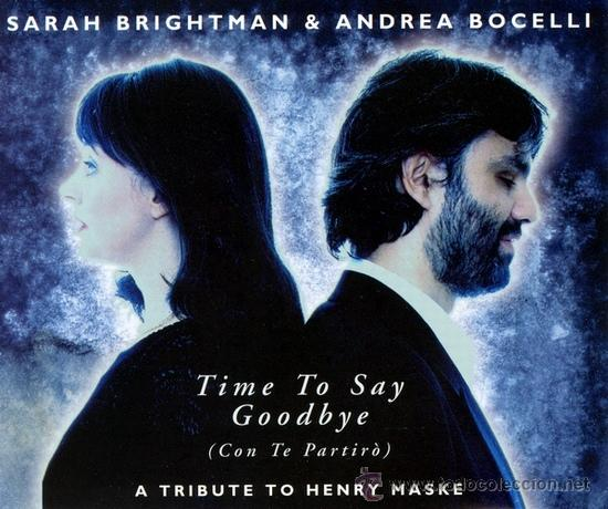 CDs de Música: Sarah Brightman & Andrea Bocelli - Time To Say Goodbye (Con Te Partirò) (CD, Maxi) - Foto 1 - 54905913