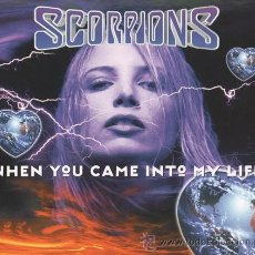 CDs de Música: SCORPIONS - WHEN YOU CAME INTO MY LIFE (CD, MAXI). Lote 54905943
