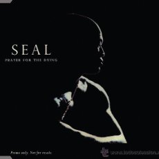 CDs de Música: SEAL - PRAYER FOR THE DYING (CD, SINGLE, PROMO). Lote 54906022