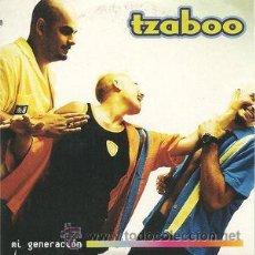 CDs de Música: TZABOO - MI GENERACIÓN (CD, SINGLE, PROMO, CAR) PRECINTADO. Lote 54923672