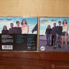CDs de Música: COSAS POR DECIR - TROYA ARDIO HACE TIEMPO - CD. Lote 294032158