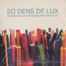 CDs de Música: VV. AA. - SO DENS DE LUX (CD, COMP, PROMO, CAR). Lote 54946606