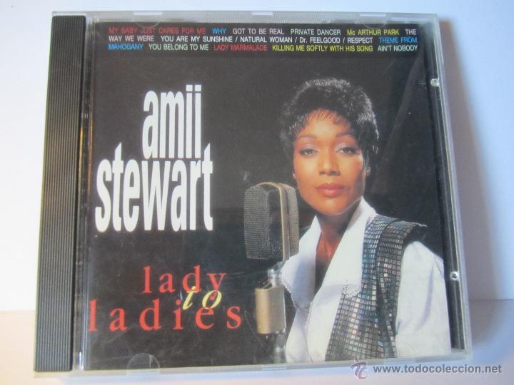 CD AMII STEWART LADY TO LADIES AÑO 1994 (Música - CD's Jazz, Blues, Soul y Gospel)