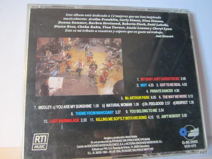 CDs de Música: cd amii stewart lady to ladies año 1994 - Foto 4 - 54949930