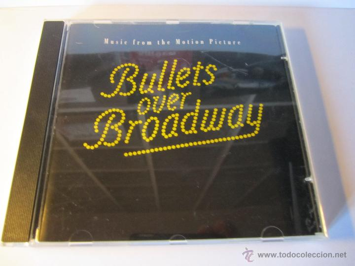 CD BANDA SONORA BULLETS OVER BROADWAY BALAS SOBRE BROADWAY AÑO 1994 (Música - CD's Bandas Sonoras)