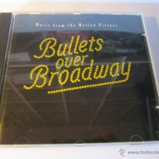 CDs de Música: CD BANDA SONORA BULLETS OVER BROADWAY BALAS SOBRE BROADWAY AÑO 1994. Lote 54950279