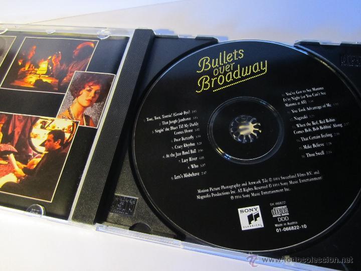 CDs de Música: cd banda sonora bullets over broadway balas sobre broadway año 1994 - Foto 2 - 54950279
