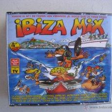 CDs de Música: CD IBIZA MIX - 4 CDS.. Lote 54952372