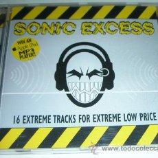CDs de Música: VARIOS ?– SONIC EXCESS - RECOPILATORIO EARACHE - MORTIIS / THE HAUNTED DECAPITATED Y MAS. Lote 54954598