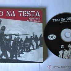 CDs de Música: TIRO NA TESTA - AGÜECATE EL PELICANO - CD LIBRO 28 TEMAS - ANTI SGAE NUESTRA MUSICA NO ES MERCANCIA. Lote 54969101