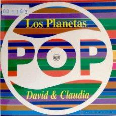 CDs de Música: LOS PLANETAS DAVID & CLAUDIA RADIO EDIT EDICIÓN PROMOCIONAL EXCLUSIVA PARA LOS 40 PRINCIPALES. Lote 54971939