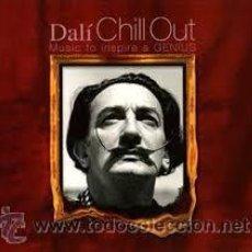 CDs de Música: DALI CHILL OUT (MUSIC TO INSPIRE A GENIUS) DOBLE CD NUEVO. Lote 54974236