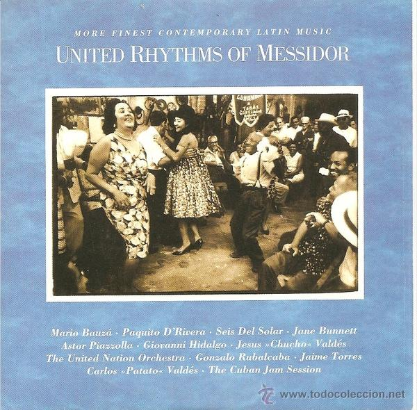 VV. AA. - UNITED RHYTHMS OF MESSIDOR - MORE FINEST CONTEMPORARY LATIN MUSIC (CD, ALBUM, COMP, CAR) (Música - CD's Latina)